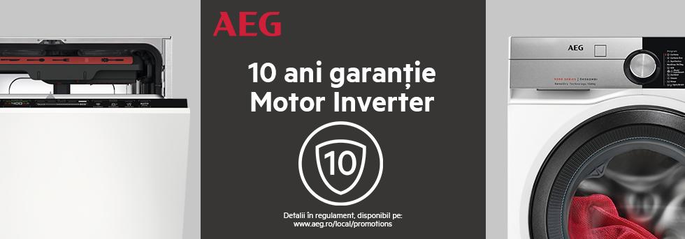 10 ani garantie Motor Inverter AEG