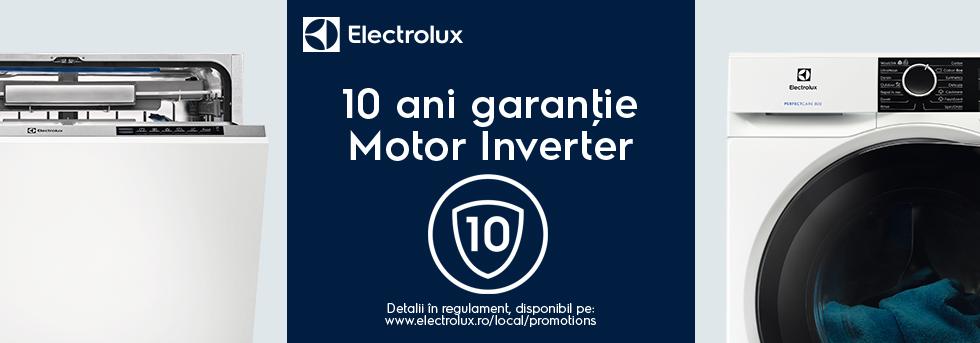 10 ani garanție Motor Inverter ELX